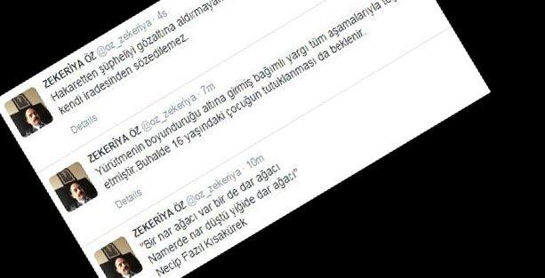 Zekeriya Öz'den HSYK kararına jet cevap