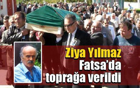 Ziya Yılmaz Fatsa'da toprağa verildi