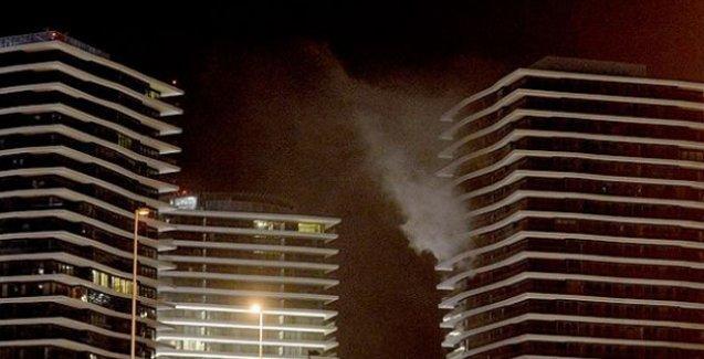 Zorlu Center inşaatında yangın: Bir işçi yaşamını yitirdi