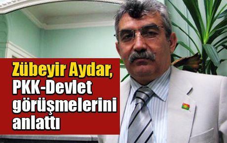 Zübeyir Aydar, PKK-Devlet görüşmelerini anlattı