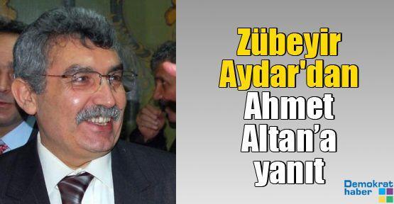 Zübeyir Aydar'dan Ahmet Altan'a yanıt