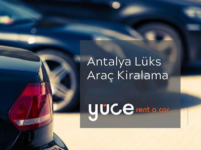Antalya Lüks Rent A Car
