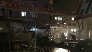 Ankara'daki patlamanın güvenlik kamerası görüntüleri