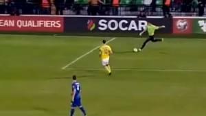 İbrahimovic, yine enteresan bir gol attı
