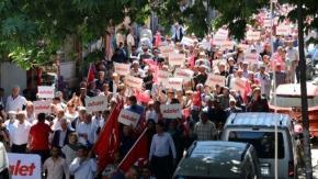 'Adalet Yürüyüşü' konvoyu' 17. gün drone çekimi