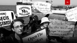 Bu Dünya hepimizin ama mültecilere yer yok!