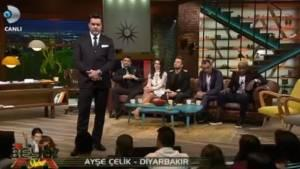 Diyarbakır'dan Beyaz Show'a bağlanan öğretmenin çarpıcı sözleri