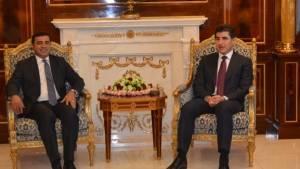 Demirtaş başkanlığındaki HDP Heyeti, Neçîrvan Barzani ile görüştü