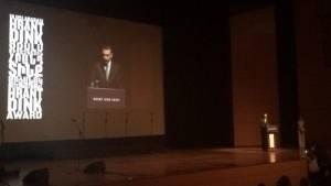 2016 Uluslararası Hrant Dink Ödülü Diyarbakır Barosu'na verildi